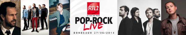 RTL2 en concert à Bordeaux