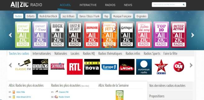 Toutes les radios possibles et imaginables sur un seul site. L'idée est toute simple, et la mise en oeuvre très efficace.