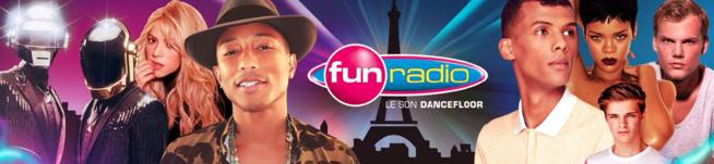 Fun Radio : un gain d'audience de 14%