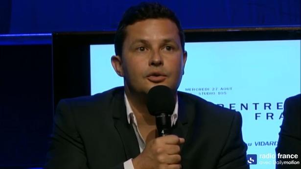 """Bruno Laforestrie, directeur du Mouv' a promis """"un projet jeune et populaire dans la réalité culturelle et sociale"""". Le nouveau Mouv' sera lancé en janvier prochain"""