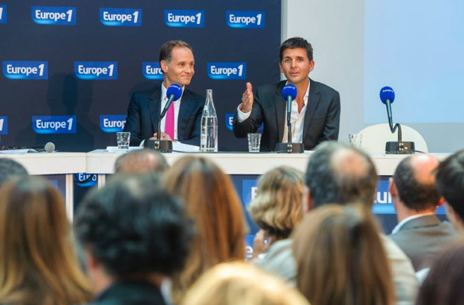 Fabien Namias et Thomas Sotto