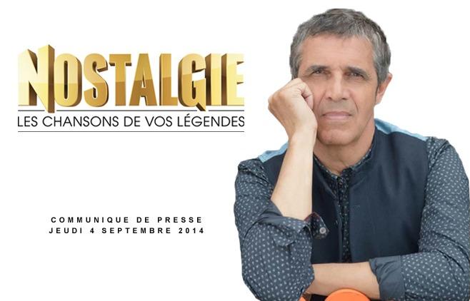Julien Clerc choisit Nostalgie