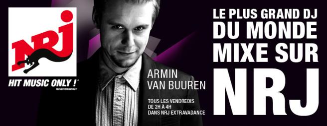 Armin Van Buuren mixera sur NRJ