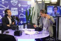 Rémi Castillo et un Jeune Talent de la Radio sur la Radio du Salon de la Radio