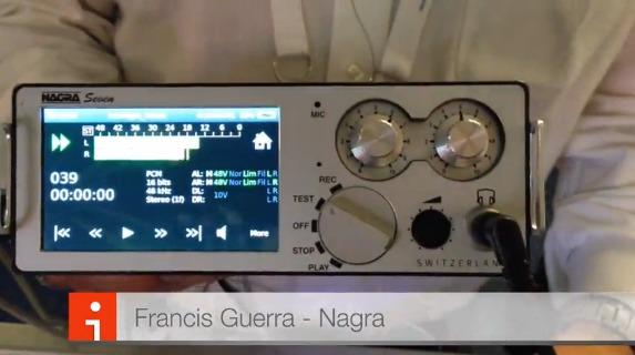 """Chez Nagra, le Nagra Seven a toujours la côte et devient un """"couteau Suisse"""" avec un module 3G"""