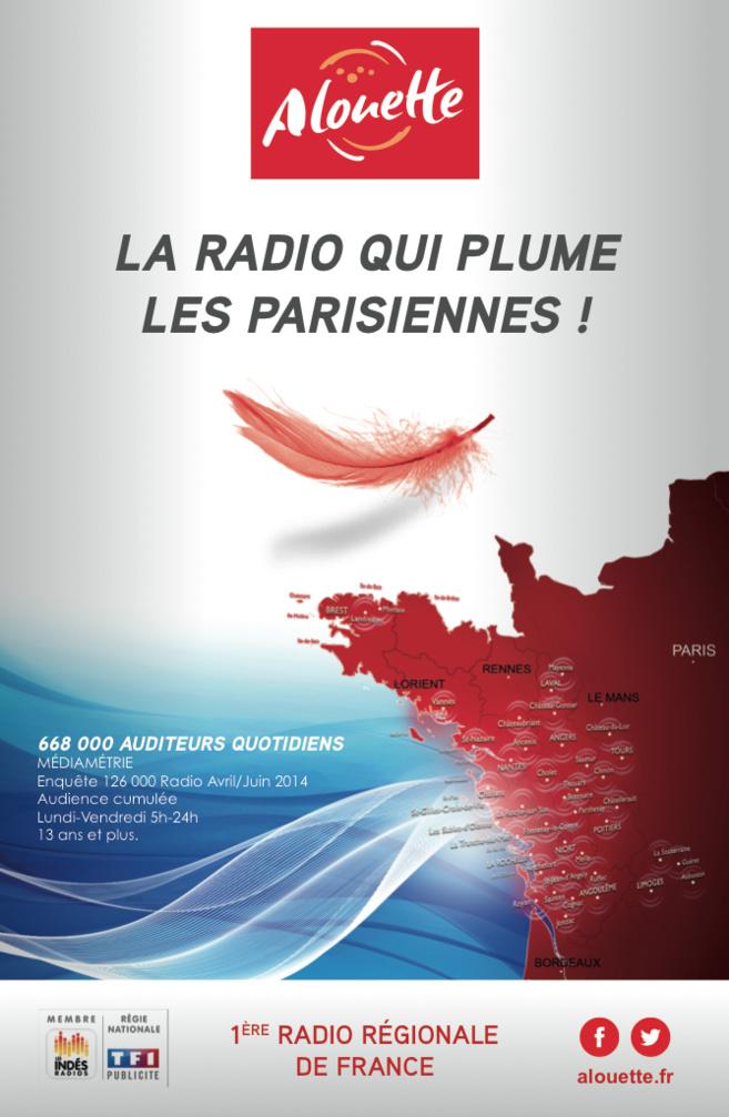 Alouette plume les parisiennes