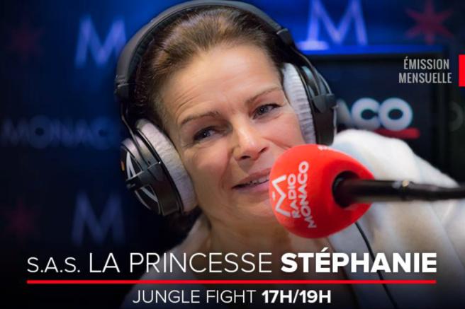 Stéphanie sur Radio Monaco