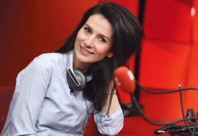Marie Drucker aussi à l'aise devant une caméra que devant un micro © Elodie Grégoire Abaca Press - RTL