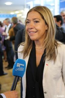 Marie-Christine Saragosse, présidente de France Médias Monde © Serge Surpin