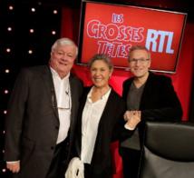 Fabrice, Sophie Garel et Laurent Ruquier © Jérôme Dominé - Abacapress - RTL