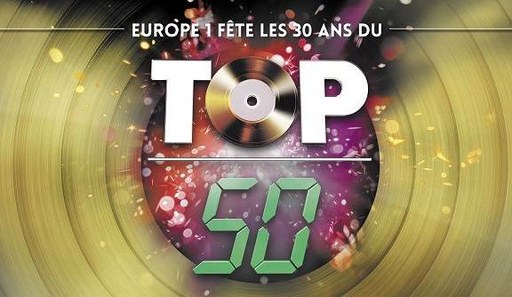Le Top 50 au top sur Europe 1
