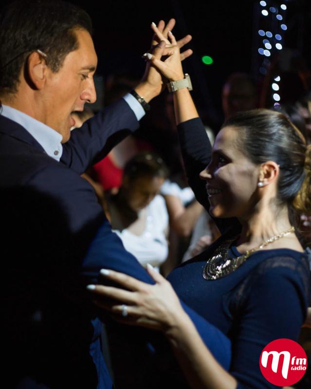 Dany Brillant a dansé avec son public © MFM Radio