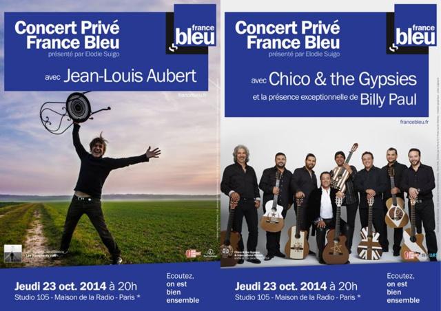 France Bleu en concert privé ce soir à 20h
