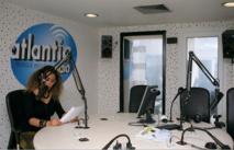 Le studio de direct d'Atlantic, où se succèdent les journalistes francophones et les journalistes arabophones.