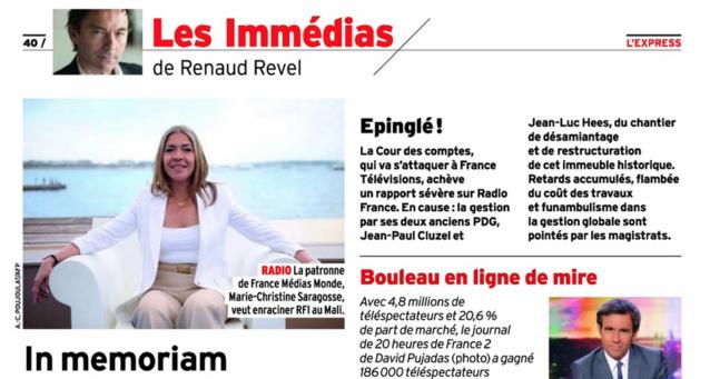 Radio France épinglée par la Cour des Comptes ?