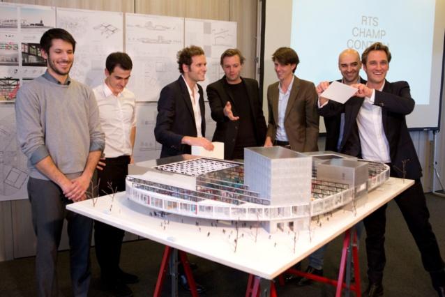 Voici le futur bâtiment de la RTS en Suisse