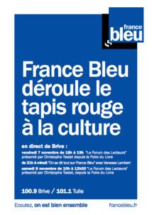 A Brive, France Bleu déroule le tapis rouge