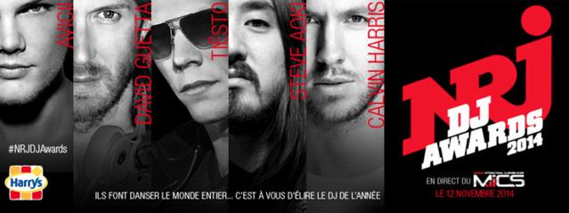 Jour J moins 2 pour les NRJ DJ Awards
