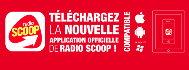 Nouvelle application pour Radio Scoop
