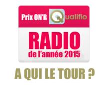 Prix de la radio de l'année 2015 : à qui le tour ?