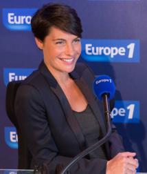 Alessandra Sublet sera ce matin à Strasbourg © Wladimir Simitch Capa Europe 1