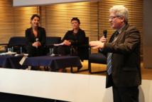 Emmanuel Boutterin se réjouit d'avoir pu organiser le congrès du SNRL à la Maison de la Radio. Pour lui, un signal fort de normalisation du rapport des radios associatives avec le service public.