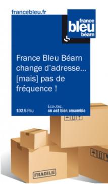 France Bleu Béarn déménage