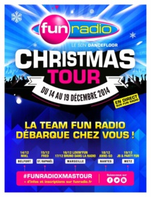 Christmas Tour avec Fun Radio