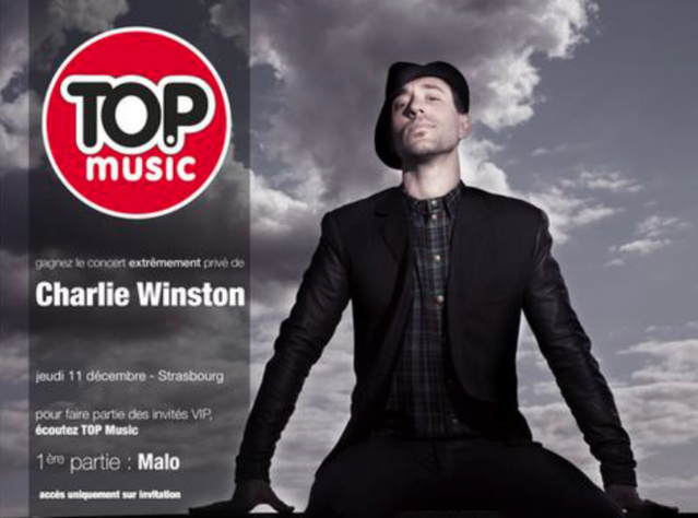 Top Music invite Charlie Winston