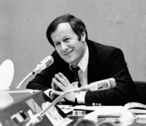 """""""Radioscopie"""" avec Jacques Chancel, une émission cultuelle de référence sur France Inter © Radio France / Roger Picard"""