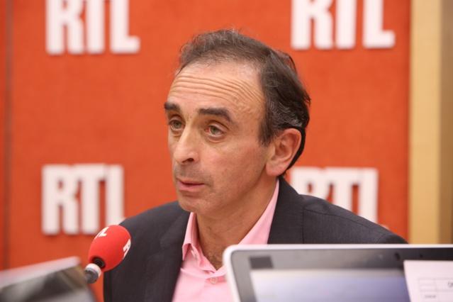 """Eric Zemmour continuera à intervenir dans le rendez-vous baptisé """"On n'est pas forcément d'accord"""" a précisé la station © RTL"""