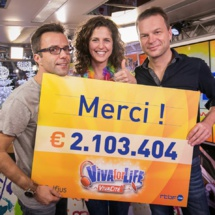 Viva for Life : plus de 2 millions d'euros collectés