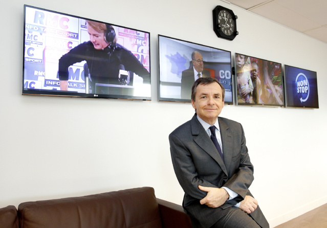 Alain Weill se définit avant tout comme un entrepreneur. A la base de l'empire médiatique qu'il a construit, le rachat de deux radios en faillite : RMC et BFM. (crédit photos Vusual Press Agency)