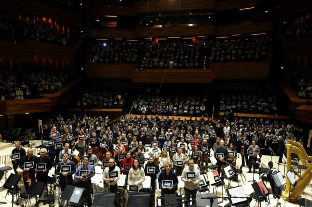 Radio France : Hommage à Charlie Hebdo