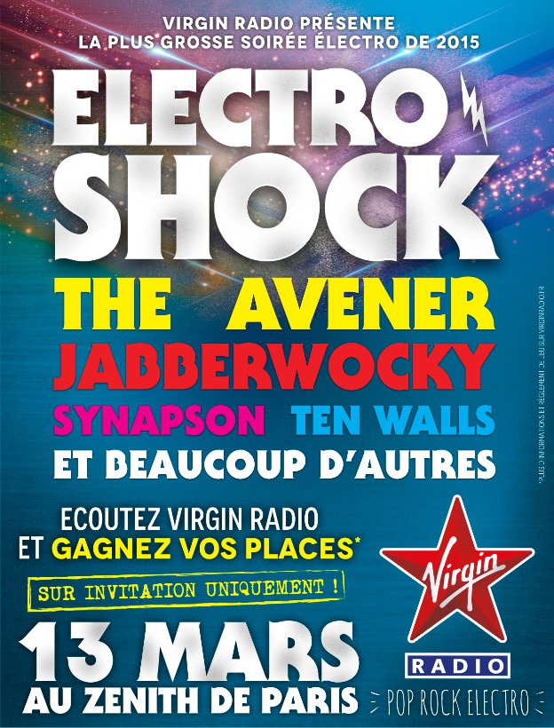 """Virgin Radio : """"la plus grosse soirée Electro"""""""