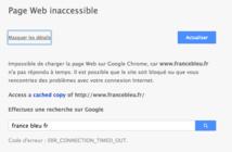 Plusieurs sites de Radio France inaccessibles