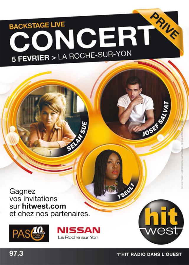 Backstage Live en direct de La Roche-sur-Yon