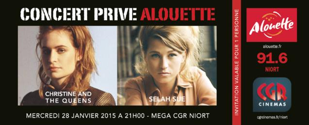 Alouette : un concert au féminin pluriel
