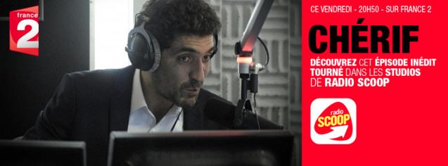 La série Chérif dans les studios de Radio Scoop
