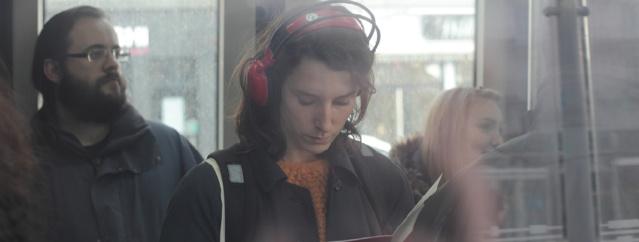 Au festival Longueur d'Ondes, on prend le temps d'écouter la radio © Sébastien Durand