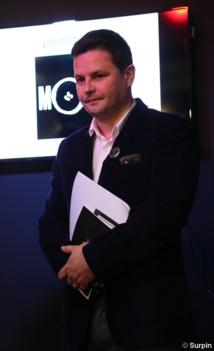 Bruno Laforestrie, le nouveau directeur de Mouv' © Serge Surpin