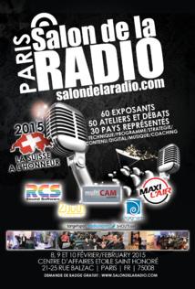 La Suisse à l'honneur au Salon de la Radio