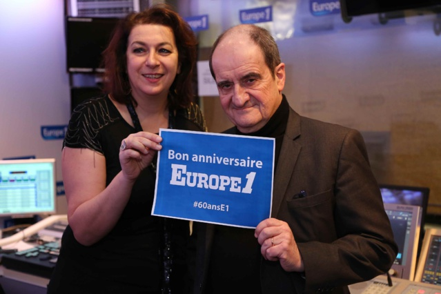 Pierre Lescure et Diane Shenouda © Wladimir Simic - Capa Pictures Europe 1