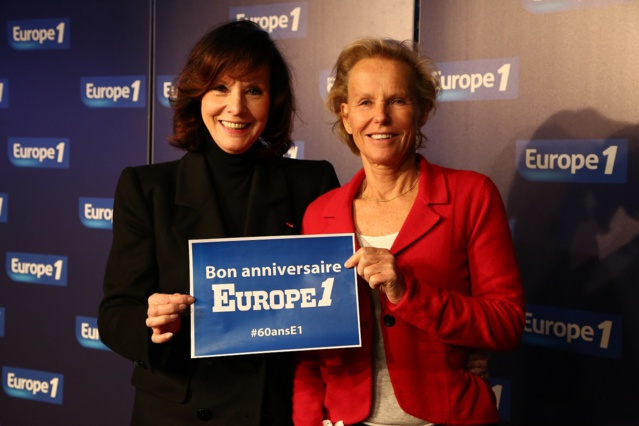 Denise Fabre et Christine Ockrent © Wladimir Simic Capa Pictures - Europe 1