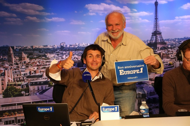 Thomas Sotto et  Jérôme Bonaldi © Wladimir Simic Capa Pictures - Europe 1