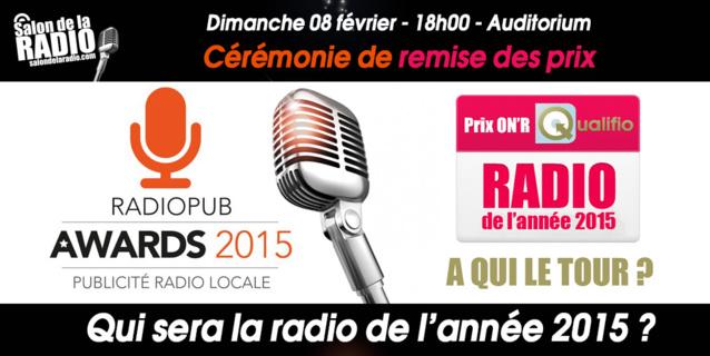 La cérémonie de remise des Prix ON'R Qualifio se tiendra ce dimanche 8 février  à 18h.