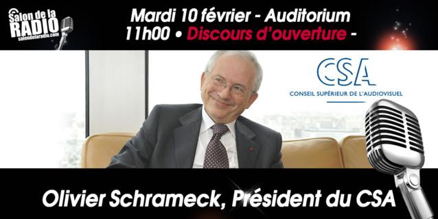 Olivier Schrameck au Salon de la Radio
