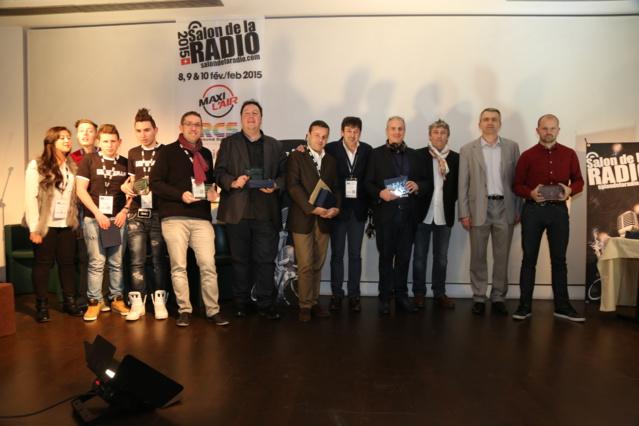 Les gagnants des Prix ON'R Qualifio : Pascal Hilaire, Thomas Pawlowski, Wilfid Tocqueville, Michael Pachen, Emmanuel Rials... © Serge Surpin