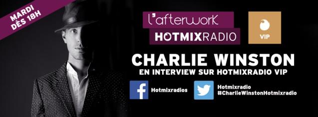 Charlie Winston ce soir sur Hotmix Radio