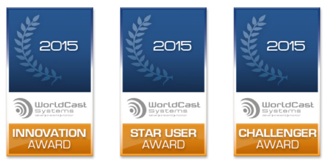 WorldCast Systems récompense ses clients